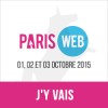 Paris Web 2015 du 1 au 3 octobre 2015. Webdesign, qualité et accessibilité. J'y vais !