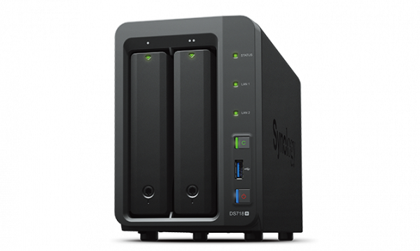 Synology DS718+, mar. 2020